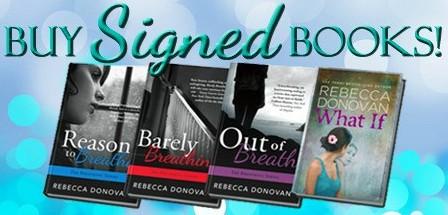 Signed Books Promo Webpage