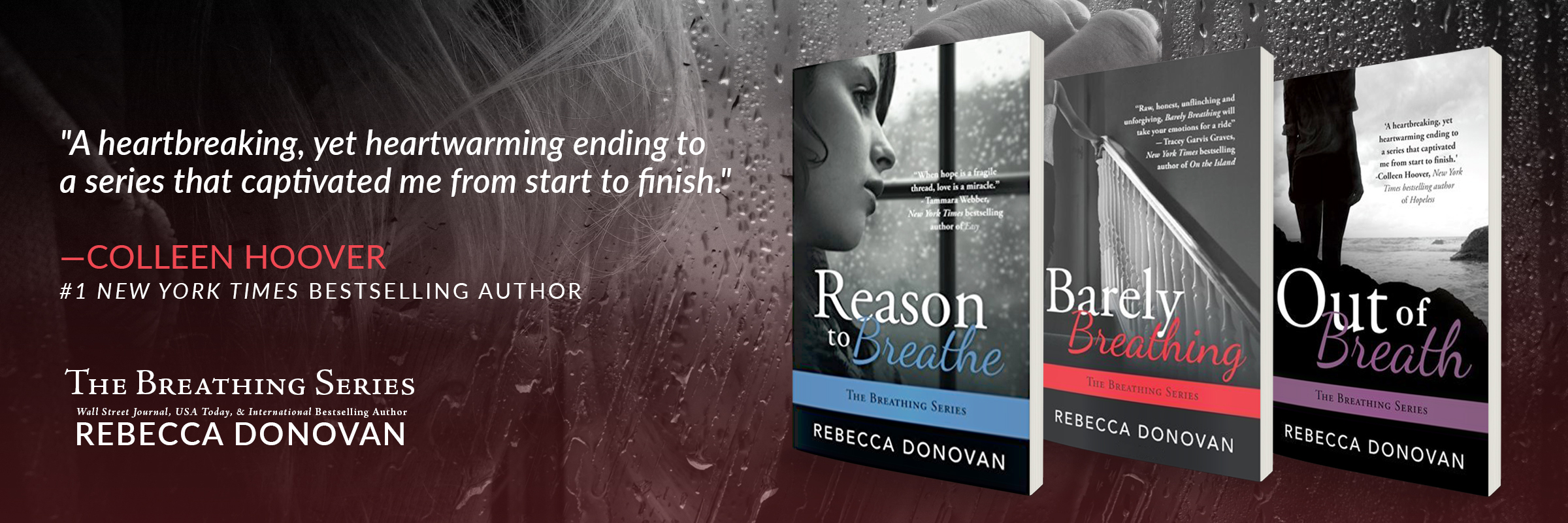 The Breathing Series by Rebecca Donovan